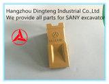 Diente 12076675K del compartimiento del excavador de Sany para el excavador hidráulico de Sany Sy55