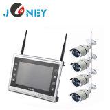中国の製造者の工場価格4CH 8CH720p 960p 1080PのホームセキュリティーCCTVのカメラシステムWiFi無線NVRキットCCTVシステム