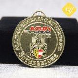 Maratona de acabamento de desportos personalizado executando o Medal of Honor OEM de Metal