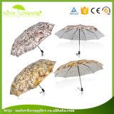 Низкая таможня MOQ имеет зонтик полной сублимации выдвиженческий