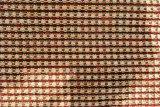 ブラウンのジャカード格子縞のソファーファブリック(fth31870c)