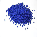 Pp.-/PET blaue Plastikfarbe Masterbatch mit hohem Perfermance beim Film-Schlag