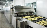 La cadena de producción de la panadería, sea horno de túnel modificado para requisitos particulares desde 1979