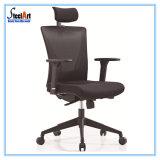 Presidenza ergonomica dell'ufficio della parte girevole del tessuto di maglia di vendita calda con supporto lombare registrabile