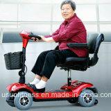 Populares barato de alta calidad de las cuatro ruedas Scooter de movilidad eléctrica para minusválidos y ancianos