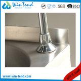 ステンレス鋼のコックが付いている膝によって作動させる台所洗面器の流し