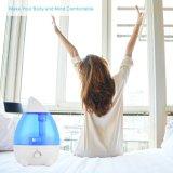 Bureau de l'humidificateur pour la Chambre le Yoga à la maison avec la protection d'arrêt automatique Waterless- 2.6L