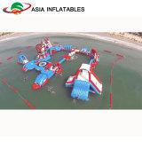 Parque Inflatables, parque inflable del agua del Aqua del lago del agua de las playas