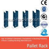 Uma pilha de paletes metálicos de depósito personalizada