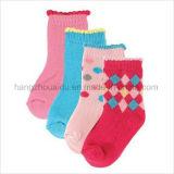 Reizende Baby-Socke der reine Baumwolle2017