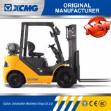 XCMGの上昇トラックの製造業者2トンガソリンフォークリフトLPGのガスのフォークリフトの価格