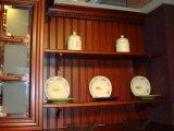 Festes Holz-Küche-Schrank konzipiert hölzernen Küche-Schrank