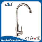 Nickel sans plomb de satin de taraud de mélangeur de robinet de cuisine de l'acier inoxydable SUS304