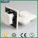 Interruptor Flush-Type certificado Ce del amortiguador del LED