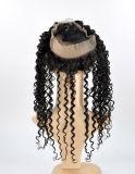 Virgem de cabelo humano 360 Rendas Encerramento no preço de venda por grosso (Curly)