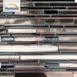 De duidelijke Tegels van Highlighter van het Mozaïek van het Glas voor de Fabriek van de Keuken leveren het Gerecycleerde Mozaïek van het Glas
