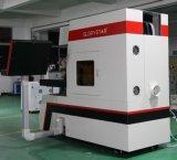 Etiqueta de plástico del laser de los pantalones vaqueros con el generador del laser 150W de Alemania Rofin