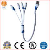 USB a/M avec quatre ports utilisés pour le câble