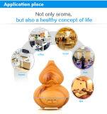Difusor de madeira do aroma do petróleo essencial do humidificador da grão da produção 150ml da fábrica