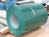 Couleur galvanisé recouvert de bobines de bobine/PPGI/bobine en acier galvanisé recouvert de couleur