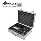 De permanente Machine van de Make-up met de Koffer van Artmex van de Doos van het Aluminium V3