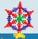 Kind-Puzzlespiel-Pflaume-Baustein-Spielzeug