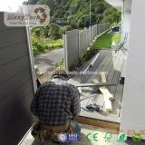 China-Lieferant Holz-Wie wasserdichter WPC Sicherheitszaun für Garten
