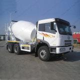 FAW 6X4 6m3の具体的なミキサーのトラックの建設用機器
