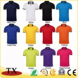 Coton brodé ordinaire Sports Polo Shirt