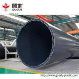二重壁UPVCの内部の螺線形の国内下水の排水の管の騒音低減の管