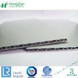 Алюминиевые панели ядра из гофрированного картона, твердых гофрированный / Water-Wave Алюминиевый композитный основной панели управления