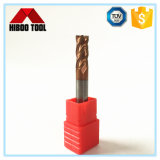 CNCのツールのための工場Bronze-Colored炭化物の製粉カッター