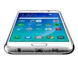 para a caixa da galáxia S6 de Samsung, tampa de borracha protetora macia transparente flexível do gel da absorção de choque TPU para a galáxia S6 de Samsung