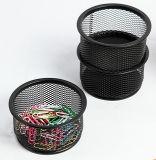 Clipes de malha de metal suporte de artigos de papelaria