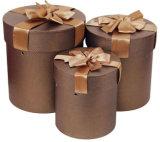 Ronda de cilindro de la caja de regalo/caja de embalaje Factory