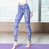 2018 de Sublimatie van de Douane 100% Kleding van de Yoga van de Polyester voor de Slijtage van de Geschiktheid van Vrouwen