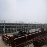 중국 GB Q235 Q345 가벼운 강철 창고 프레임 디자인