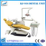 Qualität Stuhl-Eingehangener zahnmedizinischer Stuhl mit ISO-Cer (KJ-916)