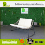 Sofà esterno di vendita caldo della mobilia del rattan sintetico di nuovo disegno impostato usando per il giardino & l'hotel