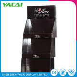 Suporte de monitor de piso de papel caixa de acrílico de exposições para lojas