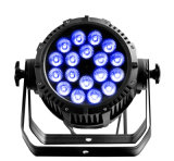 Waterdichte LEIDENE van de Verkoop van Rasha Hete IP65 de Lichte 18*10W 4in1 RGBW/RGBA LEIDENE van het PARI Projector van het PARI voor de OpenluchtPartij van de Gebeurtenis