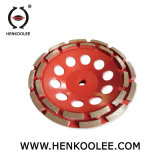 T는 콘크리트를 위한 세그먼트에 의하여 소결된 컵 바퀴를 타자를 친다