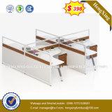 Bureau Exécutif en bois MDF chinois à bas prix des meubles de bureau (HX-8NR0518)