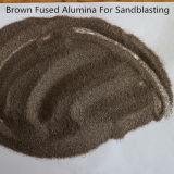 브라운은 다루기 힘든 모래 분사 연마재를 위한 반토를 융합했다