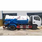 Dongfeng Vacuum Truck 4cbm Sewage Suction Truck Liquid Sewage Truck