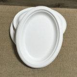 Plaque à papier amicale d'Eco de plaque ovale remplaçable de Composable