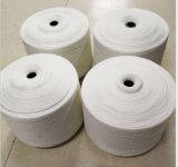 편평한 뜨개질을 하는 폴리에스테 털실