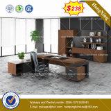 Таблица управленческого офиса грецкого ореха офисной мебели твердой древесины (HX-8NE024)