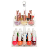 Kundenspezifischer Reihe-Acrylnagel-Kunst-Nagellack-gesetzter kosmetischer Ausstellungsstand