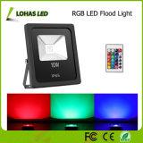 Indicatore luminoso di inondazione impermeabile di IP66 RGB LED con telecomando